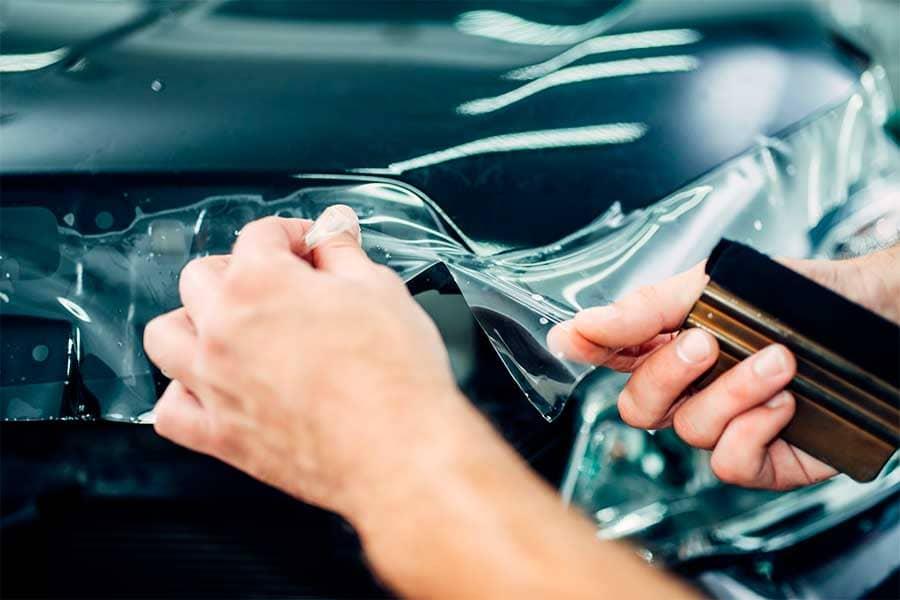 Vinilo adhesivo para car wrapping