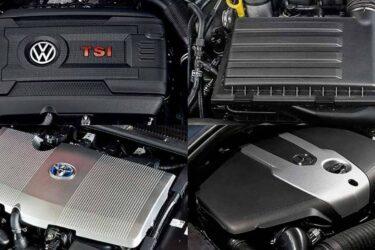 Motores de gasolina, diesel, híbrido y de gas