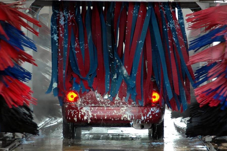 Lavado automático de vehículos