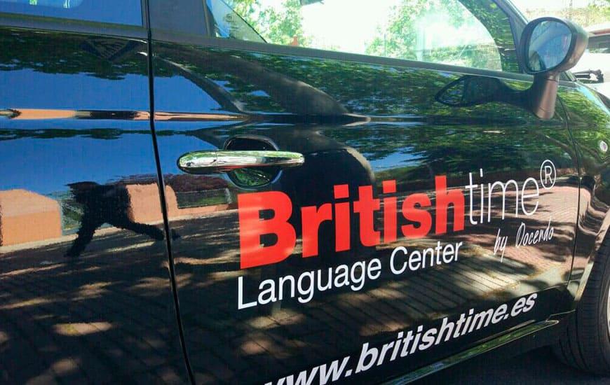 Rotulación coches British Time